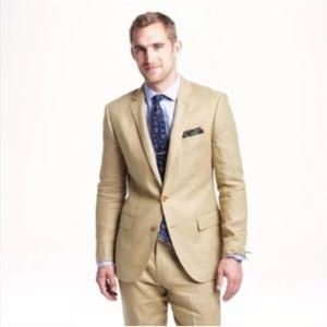 Men's J. Crew Ludlow Linen Suit